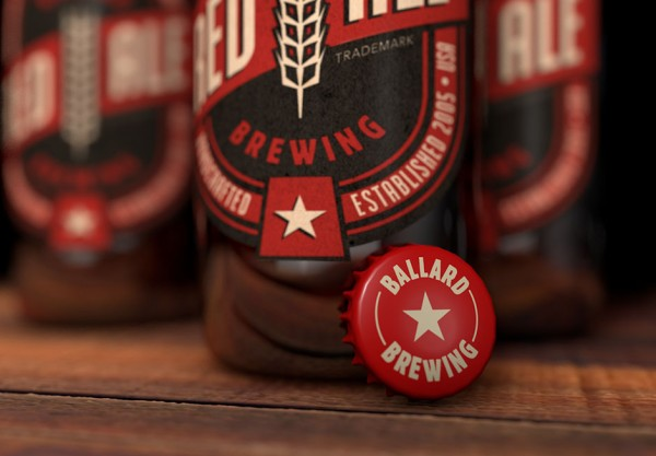 Label Design: Red Ale