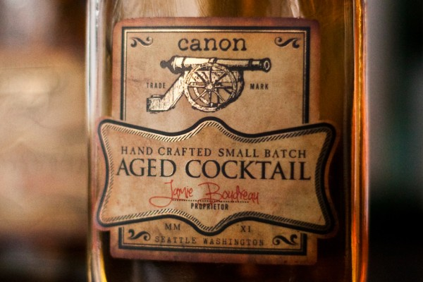 Canon Aged Cocktail
