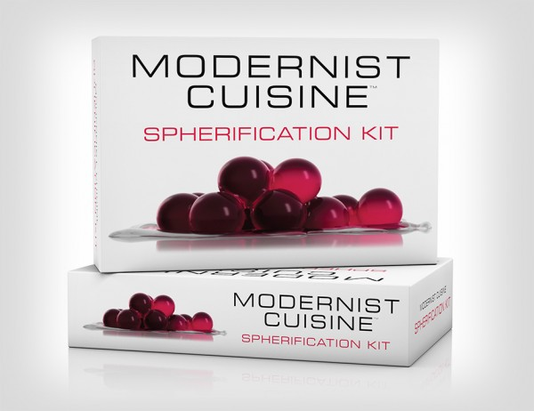 Modernist Cuisine Product Visualization