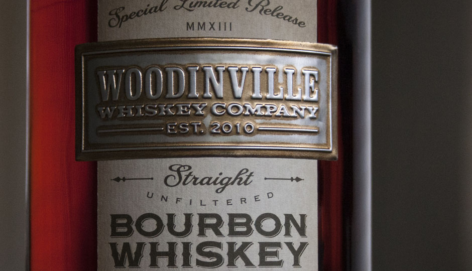 Woodinville Whiskey Bourbon Packaging