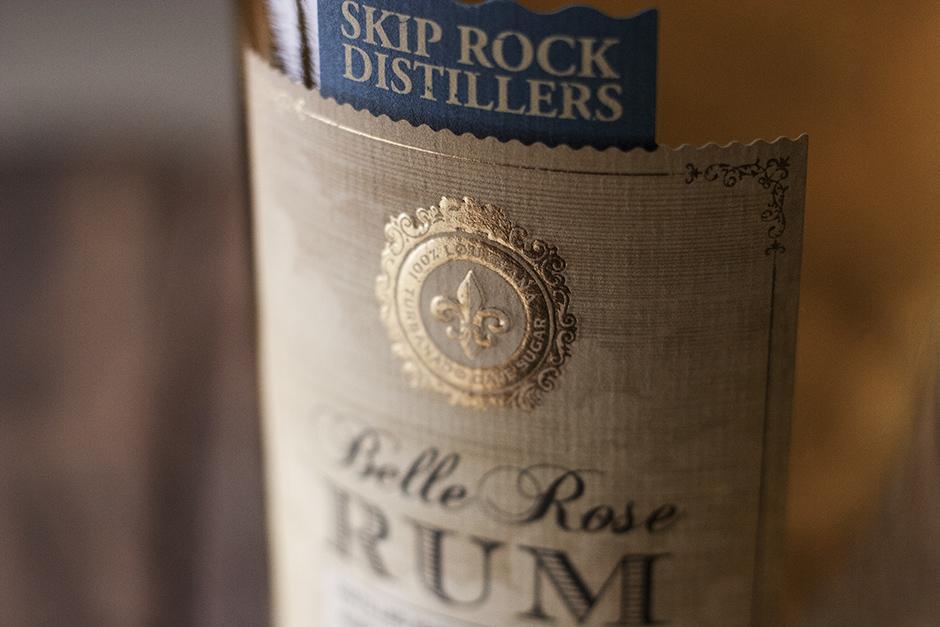 Skip Rock Distillers Belle Rose Rum David Cole Creative