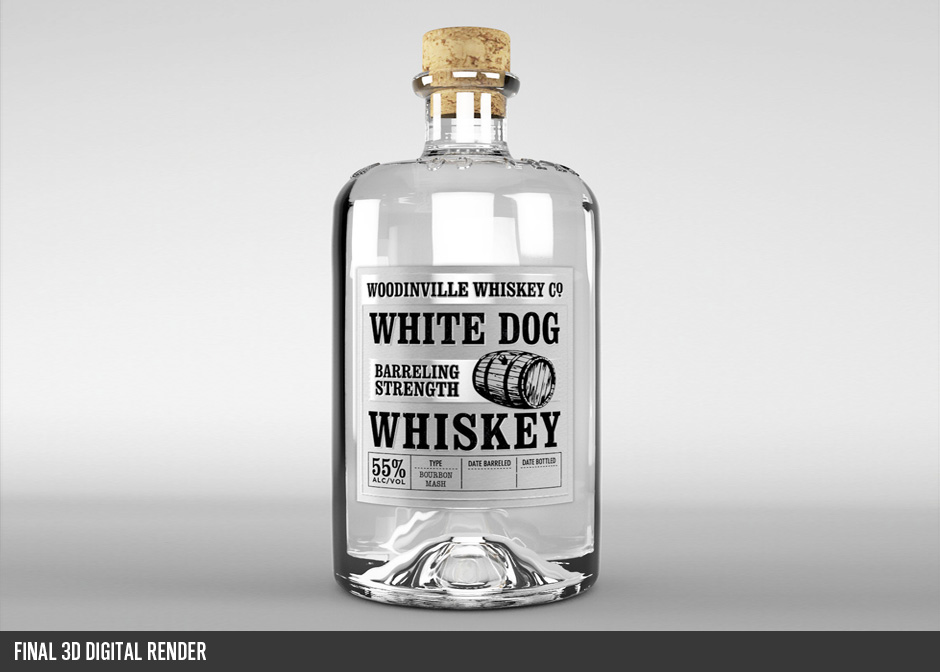 whiskey label redesign
