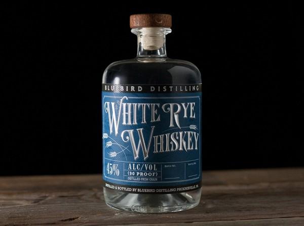 Bluebird Distilling White Rye