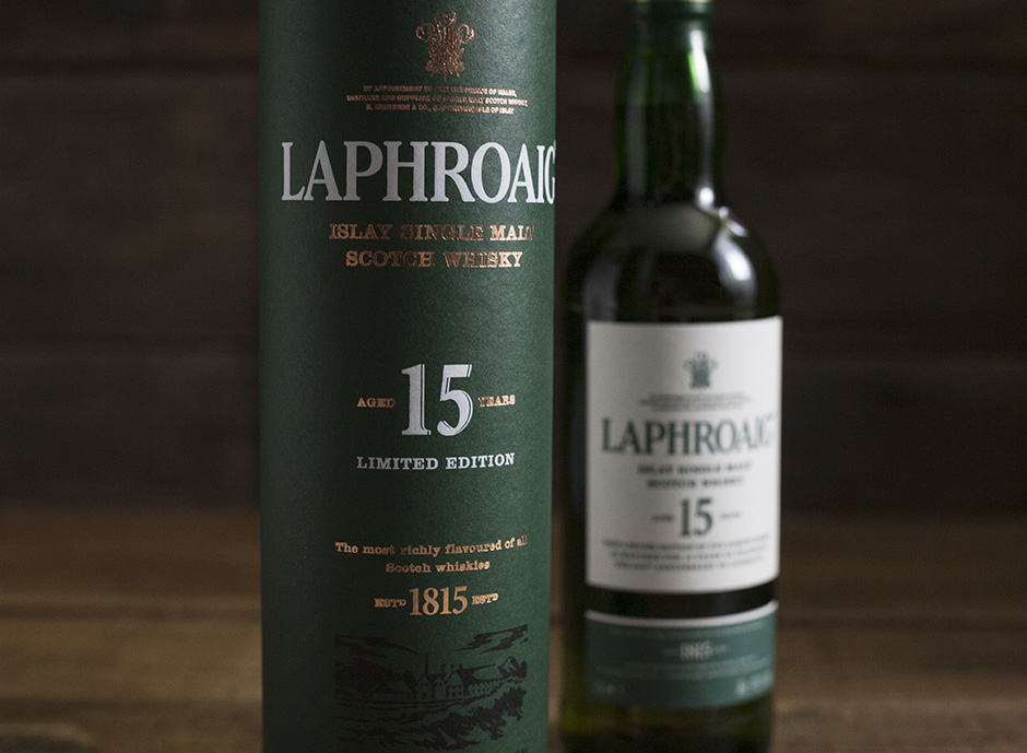Laphroaig 15-year design