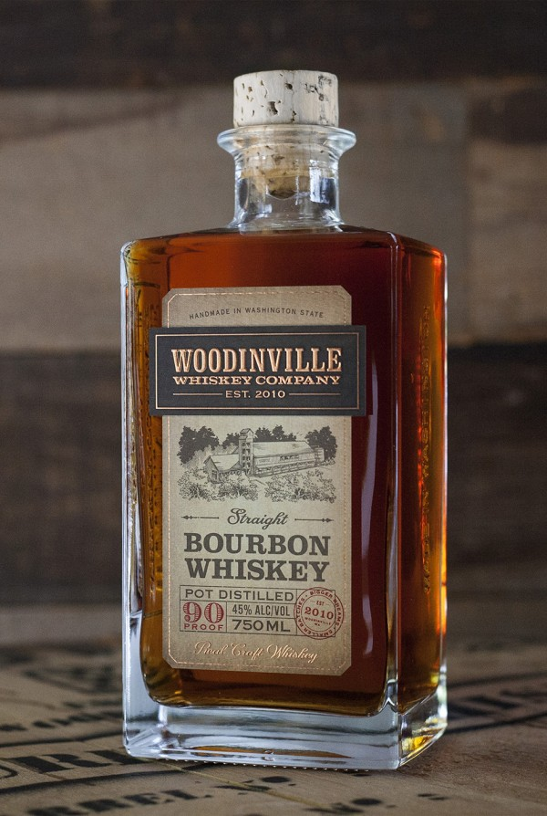 Woodinville Whiskey Company Flagship Straight Bourbon
