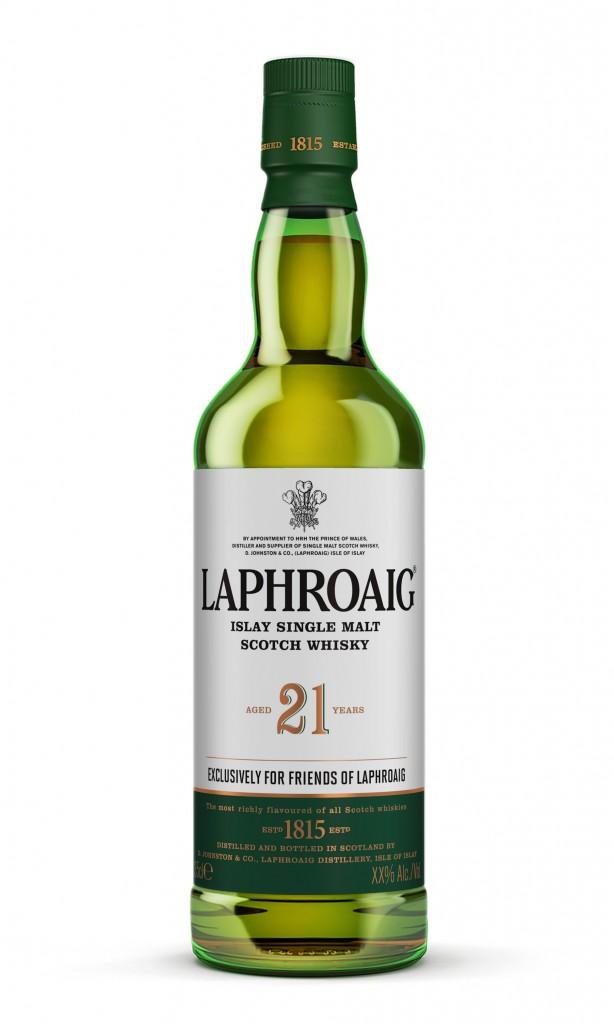 laphroaig Label Design