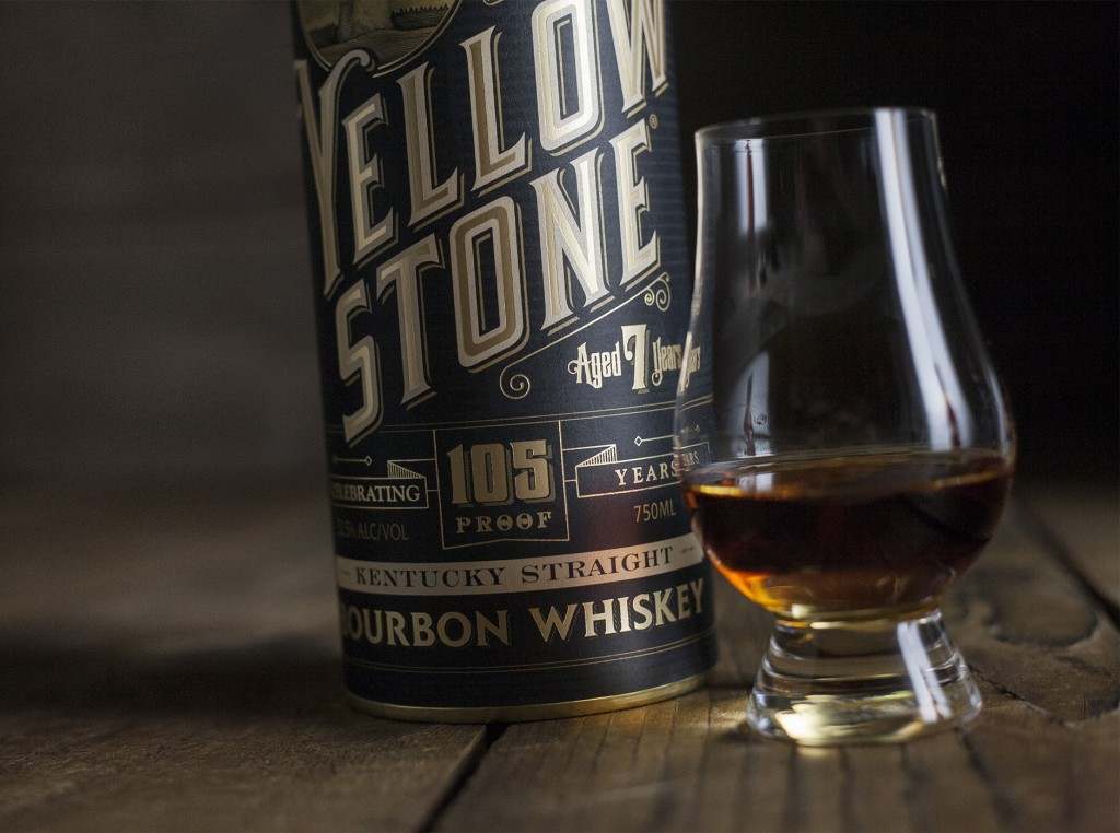 Yellowstone Bourbon Label Design