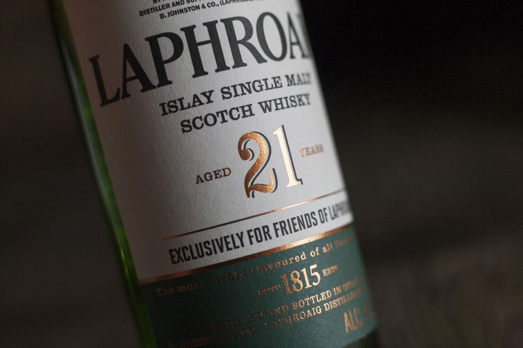 laphroaig package design