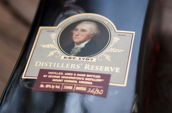 George Washington's Mount Vernon Historic Single Malt Whisky