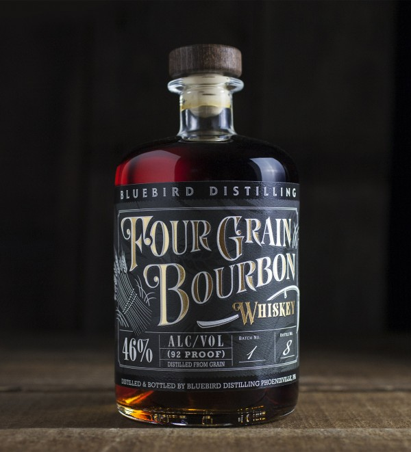 Bluebird Distilling Four-Grain Bourbon