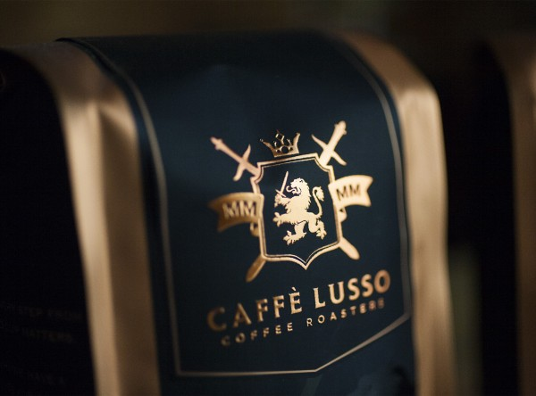 Caffé Lusso Coffee Roasters Brand & Packaging