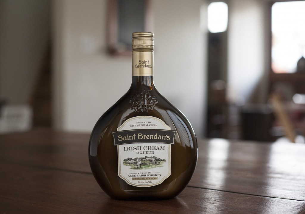 St. Brendan's Irish Cream package Design
