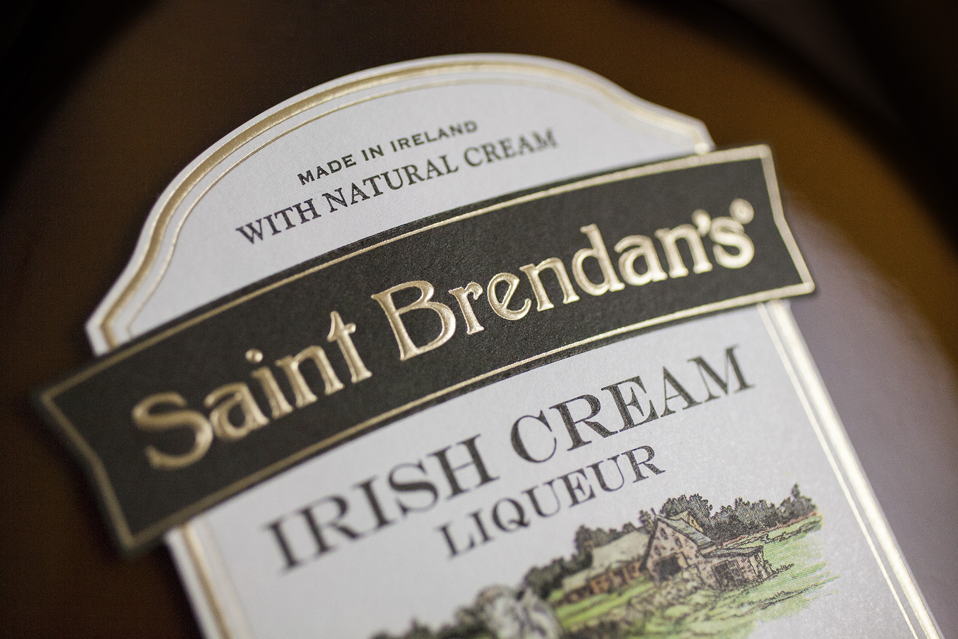 Irish Cream Package Design