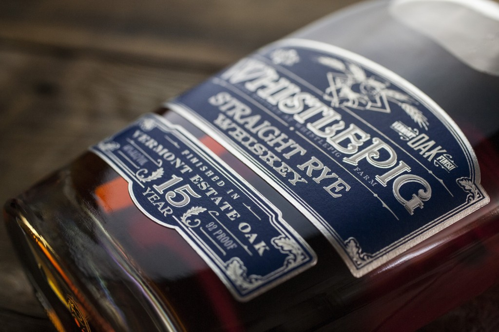 WhistlePig Whiskey Label Design