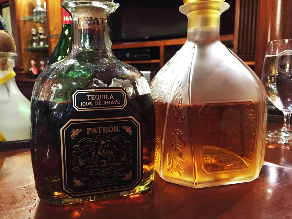 patrón tequila hacienda