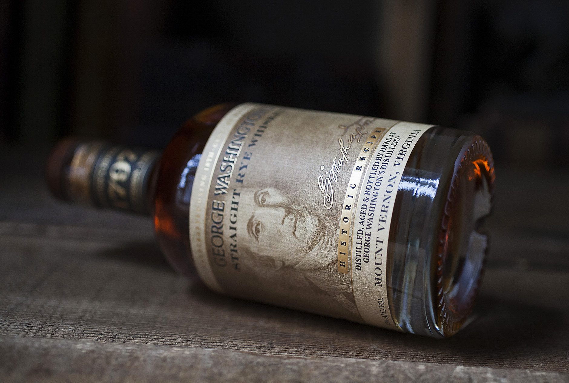 George Washington's Rye Whiskey, Mount Vernon.