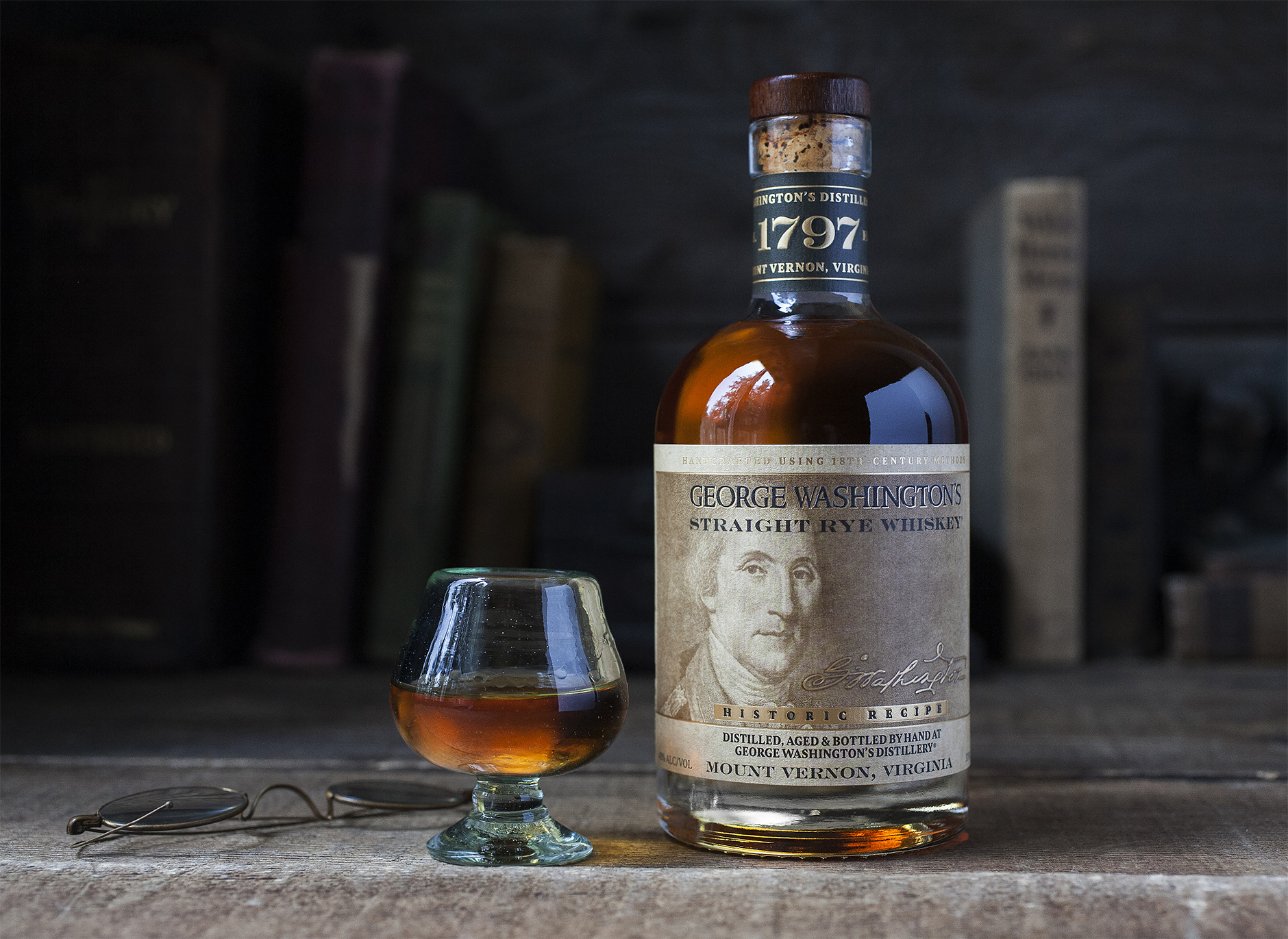 George Washington's Rye Whiskey, Mount Vernon