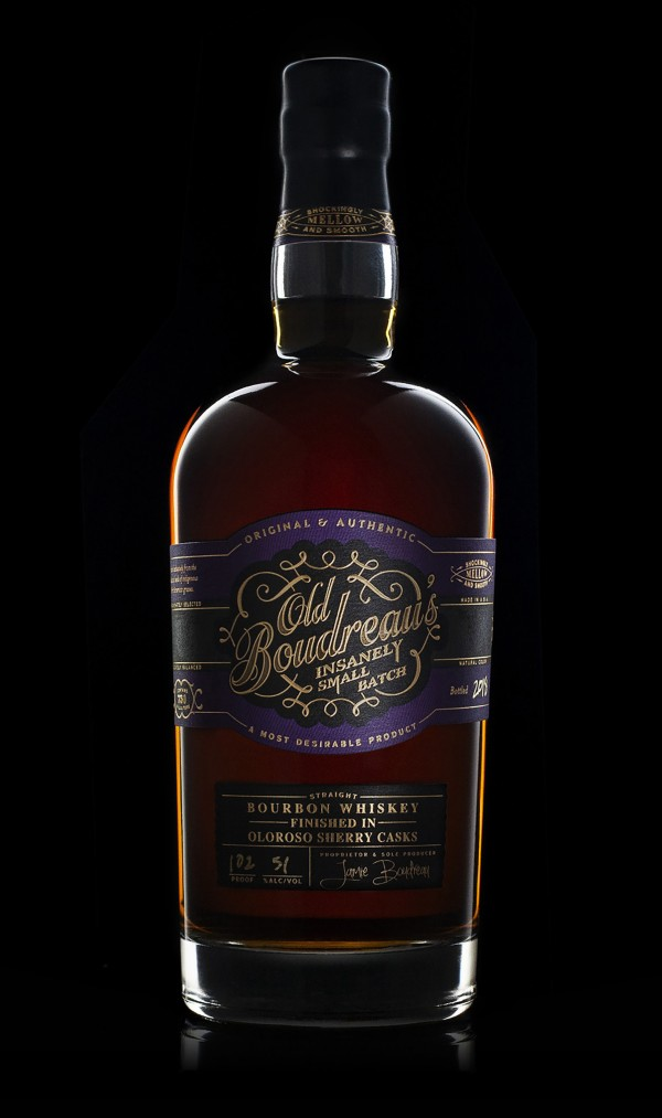 Old Boudreau's Insanely Small Batch Whiskey
