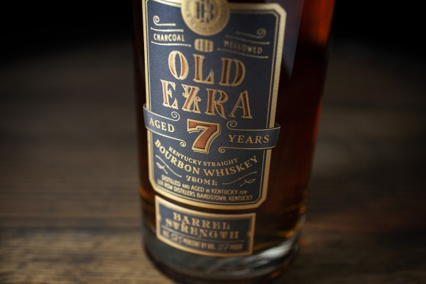 Old Ezra Barrel Strength Bourbon