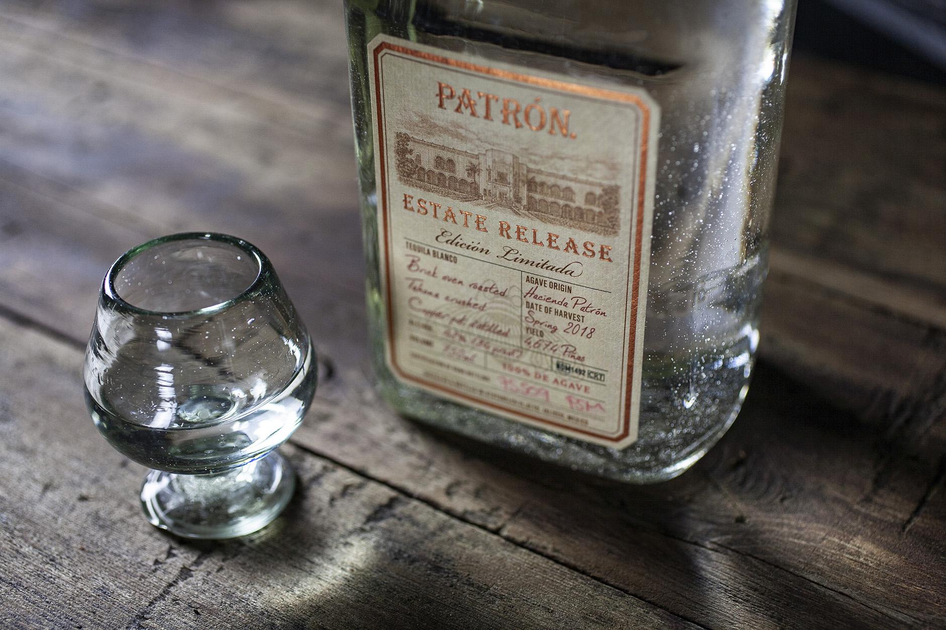 patron estate release tequila