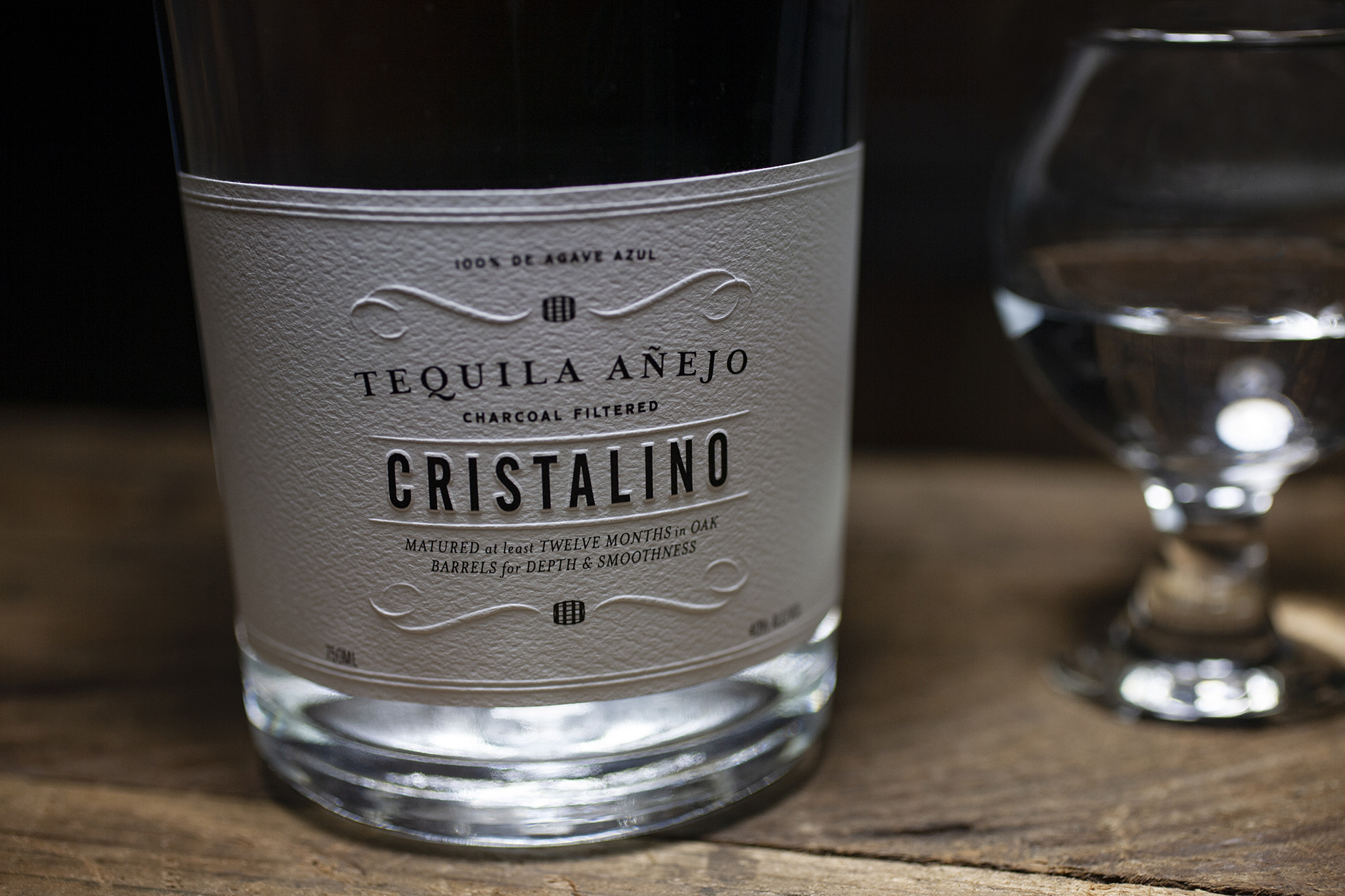 Cristalino Tequila Package Design