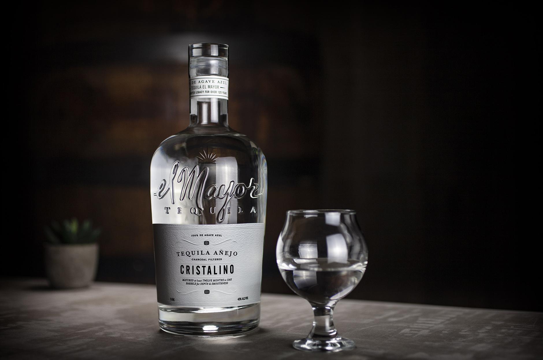 Tequila El Mayor Cristalino Bottle Design