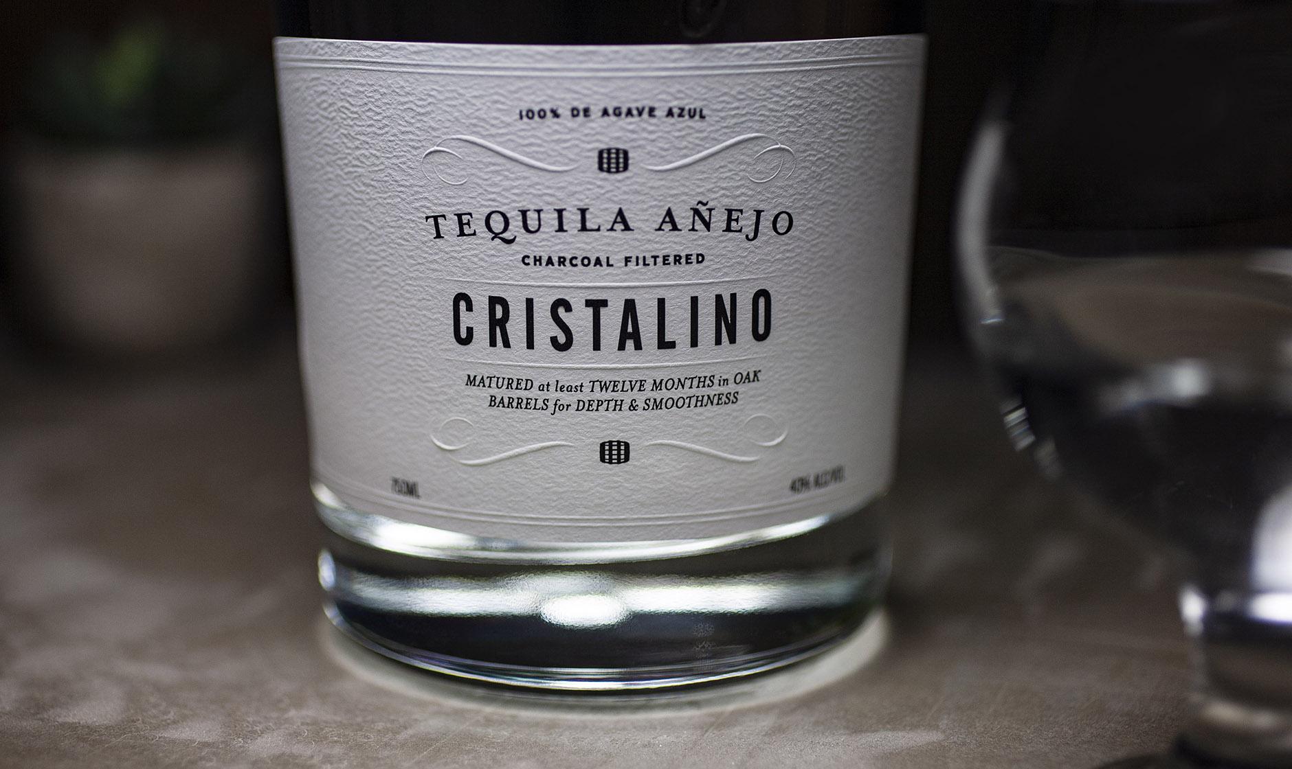 Tequila El Mayor Cristalino Label Design